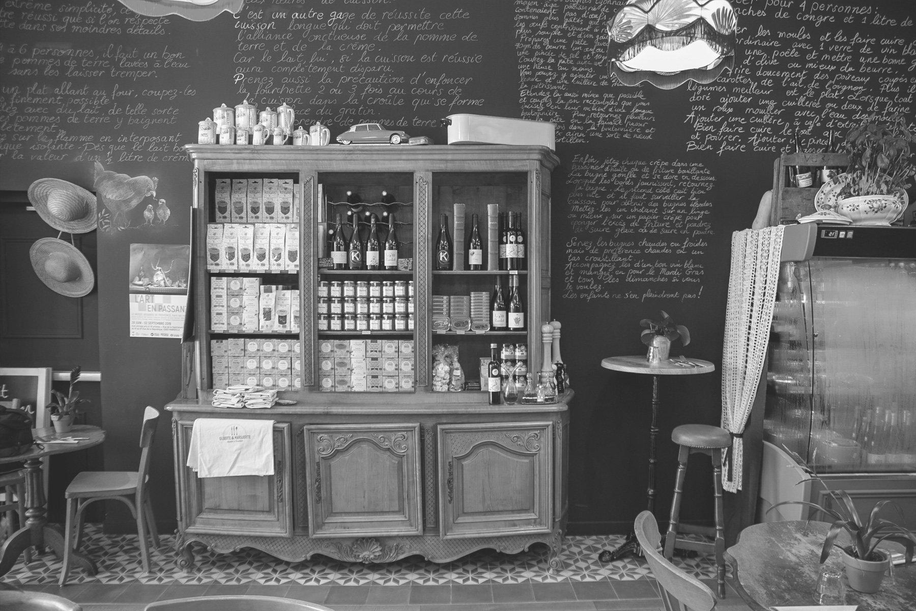 Gilberte et marguerite avenue de la république la joliette marseille plat à emporter fait maison épicerie fine