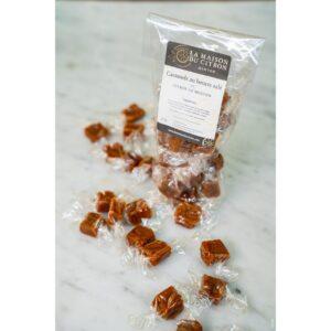 Caramels au beurre salé au citrons de Menton de la Maison du Citron
