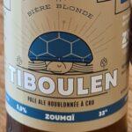 Bière Bio Tiboulen Zoumai