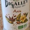 Sirop Bigallet Bio Anis