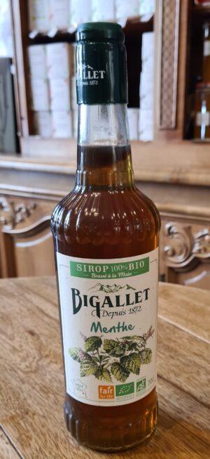 Sirop Bigallet Bio Menthe