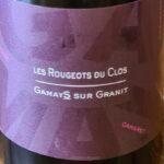 Vin Les Rougeots du Clos