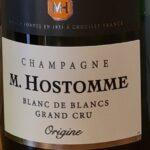 Champagne M. Hostomme Grand Cru