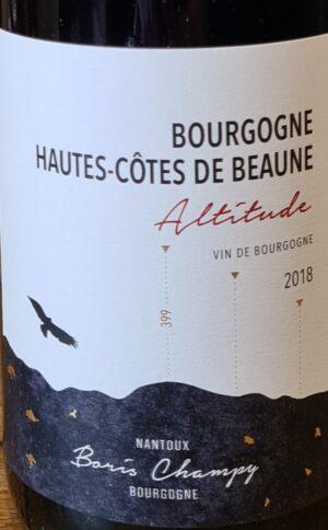 Altitude Beaune Bourgogne Champy