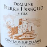 Chateauneuf du pape Usseglio