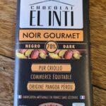 Chocolat El Inti Noir gourmet 70%